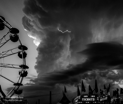 Riders Of The Storm -Image by Debra Fisher Goldstein