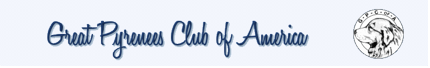 Great Pyrenees Club of America Logo