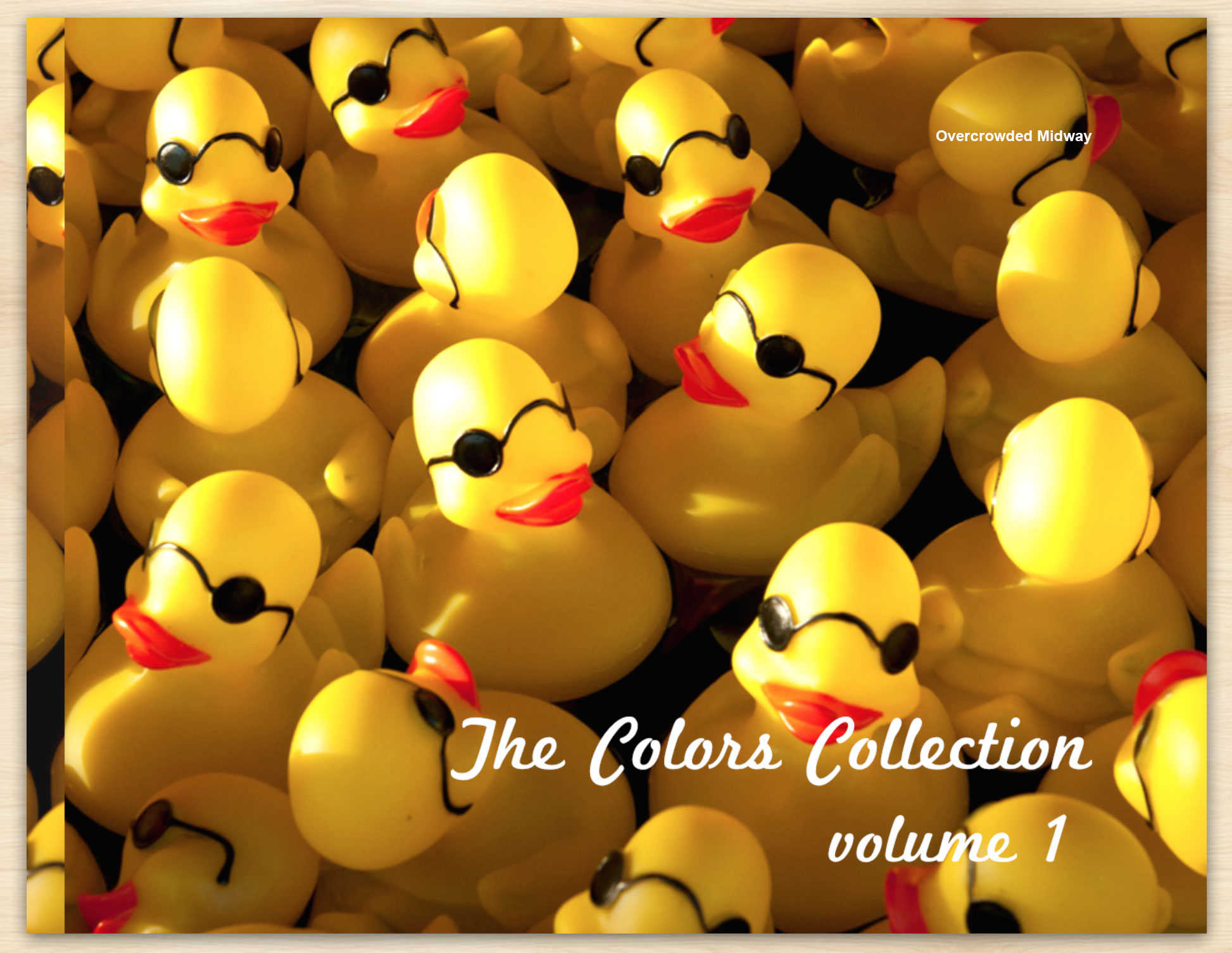 Overcrowded-Midway-The-Colors-Collection-Volume-1-by-Debra-Fisher-Goldstein