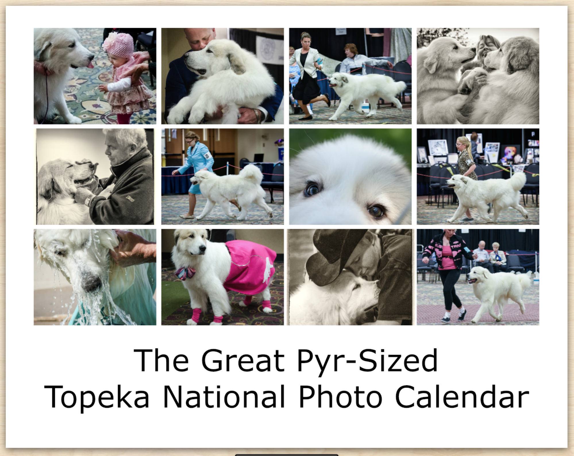 1-The Great Pyr-sized Topeka National Photo Calendar