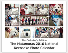 The Collector's Edition  The Matamoras 2016 Keepsake Photo Calendar